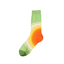 New Fashion Man Print Colorful Cotton Sock Colorful Casual Sock