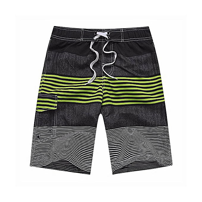 bba80bcb15d62 ... Men 'S Swim Trunks Water Beach Board Shorts Striped Sportwear With Mesh  Lining - Yellow ...