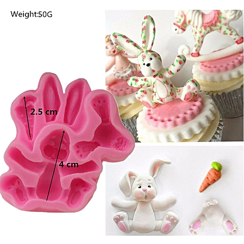 Generic Animal World Sugar Cake And Chocolate Decoration Silicone