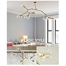 Lindsey Adelman Molecular Light Glass Chandelier Suspension Hanging Pendant Lamp #7 light