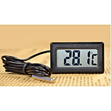 Digital LCD Thermometer Length 1m Thermocouple Probe Range -50℃~110℃
