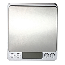 DANIU  2kg/0.1g Stainless Steel Jewelry Digital Scale Gold Silver Coin Gram Pocket