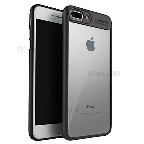 best sneakers 6ed4f 89198 Apple iPhone 7Plus /8 Plus Autofocus Series TPU Ultra Slim Clear Case  Premium Hybrid Protective Case (Black)