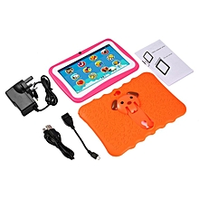 7 Inch Quad Core Children Learning Tablet PC 512MB RAM+8GB ROM for Android 4.4 orange