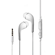 Samsung 3.5mm Earphone HS330 Earbud Three-key Button Design / Compatible For Most Of Phone-WHITE