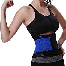 Men's Underwear Intimates  Women Men Slimming Burn Fat Tummy Slim Shapewear Bodysuit Abdomen Belt  BU/L@Blue