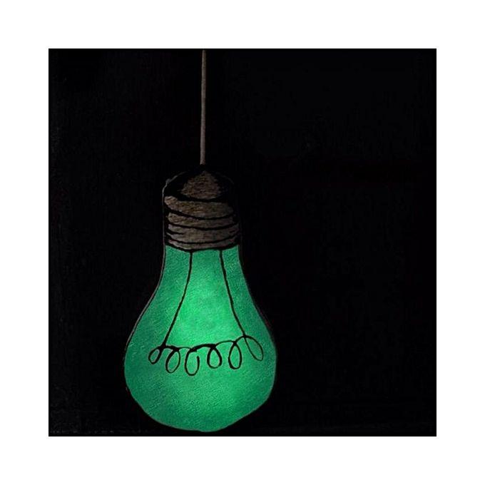 Luminous Lamp Bulb Cushion Baby Comforter Toy Home Decor Glow In The Dark Jumia Kenya
