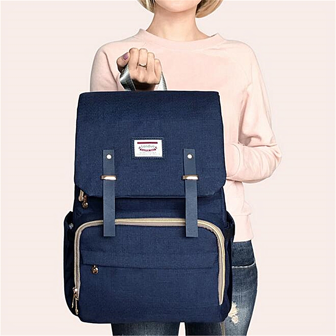 LAND Mummy Maternity Nappy Diaper Bag Baby Changing Backpack Travel Rucksack 83d3e73972cd0
