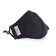 Unisex PM2.5 Anti-Dust Activated Carbon Breathable Filter Windproof Cotton Mouth-muffle Mask