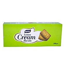 Magic Cream Lemon Biscu200g