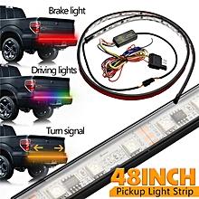"48"" LED Tail Gate RGB Light Bar Strip Truck Pickup Running/Brake/Reverse/Signal"