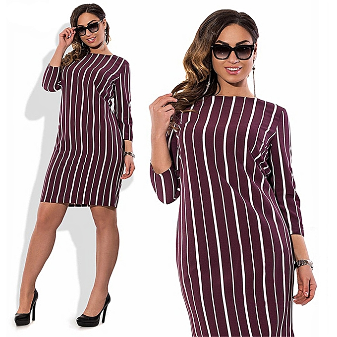 Office Pencil Midi Dress Short Sleeve Print Bodycon Dress Women Tunic  Elegant Vestidos Sheath Ladies Dress 9a70dfdda6e0