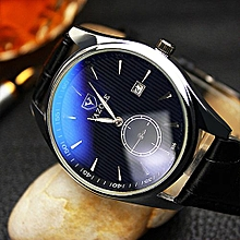 Men Watch With Calendar Wristwatch With Luminous Effect
