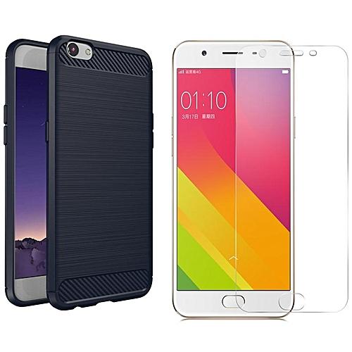 For OPPO R9S Plus/F3 Plus Ultra Slim Carbon Fiber Case/Fingerprint-proof  Shockproof Protective Cover Shell For OPPO R9S+/F3+ 312353 c-7 (Color:Main