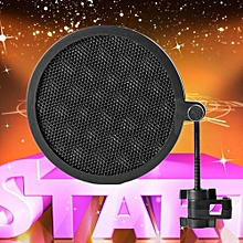 OR PS-2 Double Layer Studio Microphone Mic Wind Screen Pop Filter For Recording-black