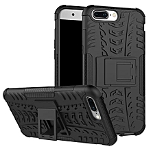 "For OnePlus Five Case, Hard PC+Soft TPU Shockproof Tough Dual Layer Cover Shell For 5.5"" 1+ One Plus 5, Black"