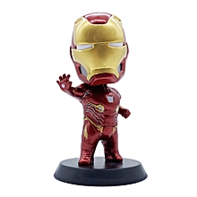 Marvel 10cm Iron Man Bobblehead, Collectible Cartoon Bobblehead Figurines