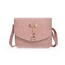 jiuhap store Women Fashion Handbag Shoulder Bag Casual Tote Ladies Messenger Bag-Pink