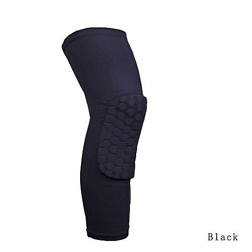 2017 New Hot Sale New And Fashion Honeycomb Knee Pad Crashproof Antislip Basketball Leg Long Sleeve