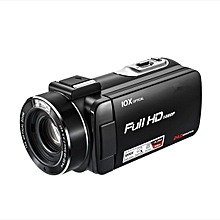 Professional Video Camera With Remote Control 24MP 10X Optical Zoom 1080P Video Recording HDV Camcorder Digital HDV-Z80 KANWORLD