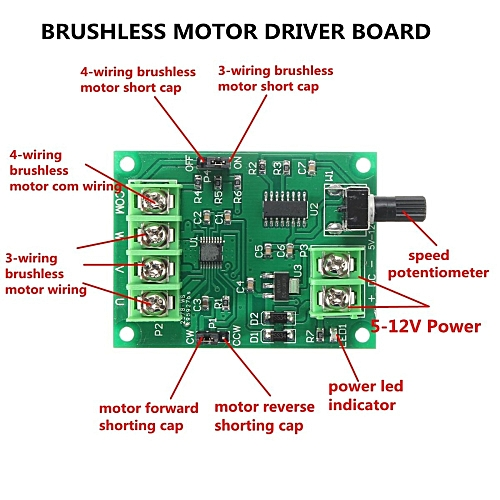 How To Wire A Brushless Dc Motor  Wire Dc Motor Wiring Diagram on