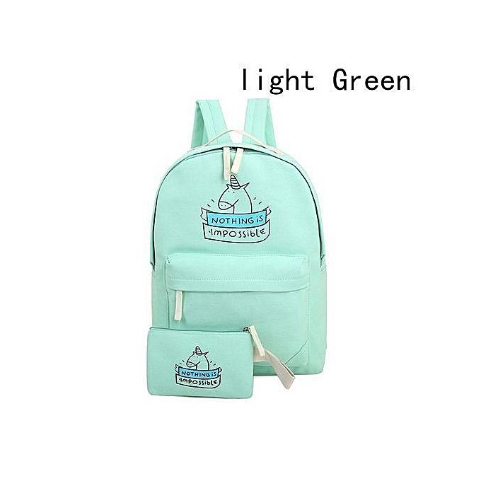 212ee657ff Cute Unicorn School Bag Women Girl Boy Backpack School Bags Handbag Unicorn  Bag
