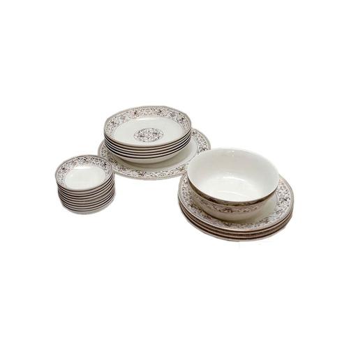 23Pcs Indian Vintage Dinner Plates Set - White  sc 1 st  Jumia Kenya & Buy Beautiful Household 23Pcs Indian Vintage Dinner Plates Set ...