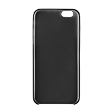 Black Transparent Ultra Thin Matte Hard Cover Case For Apple IPhone 6 4.7' Black