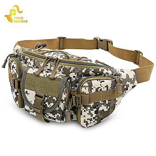 Free Knight Free Knight Tactical Molle Waist Bag Military Hip Belt Pack ec19579650e