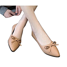 New modern design ladies shoes fancy  flat shoes
