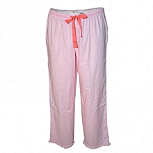 Pink Dotted Women's Pajamas