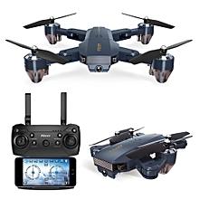 FQ777 FQ35 WiFi FPV with 720P HD Camera Altitude Hold Mode Foldable RC Drone Quadcopter RTF-200million pixelswifi Single version