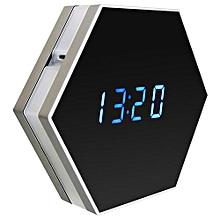 1080P Wireless Wifi Hidden   Camera Motion Detection Security Alarm Clock Cam US Plug