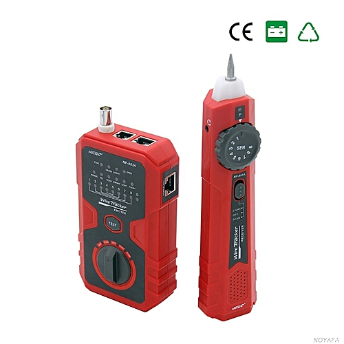NF-803A simple operation cable tester tone generator for RJ45 RJ11 BNC