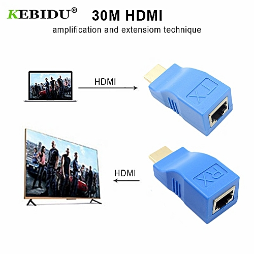 Generic Mini Rj45 Ports 4k Hdmi Extender Up To 30m Lan
