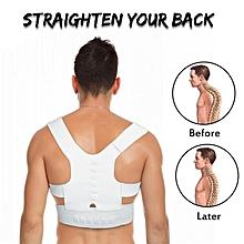 IPRee 1PC Back Straighten Belt Correct Posture Vest Health Corrective Tape Back Support Braces XL