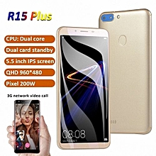 Smart Phone Intelligent Cellphone GPS GSM 3G WCDMA 5.5 Inch IPS Double-Sided Ultra-Thin Gold