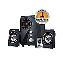 MP-2155 Multimedia 2.1 Subwoofer With Bluetooth PMPO 5500W