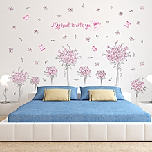 DIY Removable Wall Decal Family Home Sticker Mural Art Home Decor-Pink