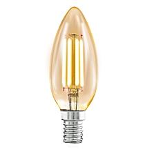 LED Filament Lamp 4W Candle Warm White E27