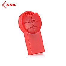 SSK SCRS064 Card Reader USB 2.0 for Micro SD / Micro SDHC / T-Flash_RED