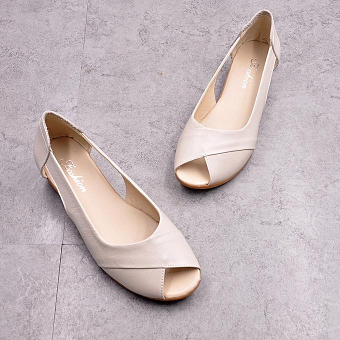 3d5ce18542e3 Fashion Women Wedges Platform Sandals Peep Toe Shoes   Best Price ...