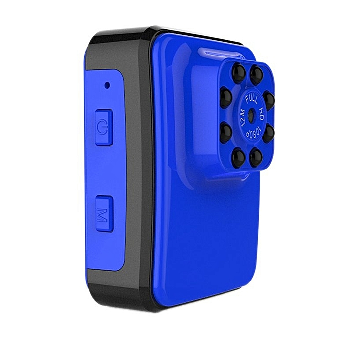 Ultra HD Mini 1080P/60fps 12MP 4K Action WiFi Sport Camera for Gopro H9 blue