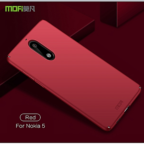 reputable site 8ad99 2330d For Nokia 5 Smooth Hard Case Luxury Ultra-thin Frosted Shield Full  Protection High Quality Back Cover For Nokia5 Casing