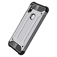 "Redmi Y2 Case,2 IN 1 Hybrid [Full Body] [Heavy Duty] Armor Case Dual Layer Shock Absorbing TPU Protective Case for Xiaomi Redmi Y2/Redmi S2 5.99""- Grey"
