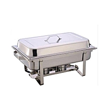 Chaffing Dish/Food Warmer - Silver