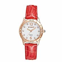 Women's Casual Fashion Quartz Watch(Red)
