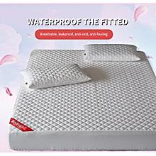 6X6 - Mattress Protector - White