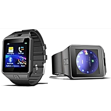 Bluetooth Smart Watch with Camera and SIM Card Slot for Android & iOS (Black)