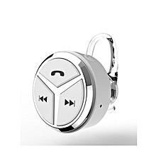 Bluetooth Headphones, Q5 Mini Stereo Binaural Bluetooth Headset Earphone 4.1 Handsfree Universal(White)